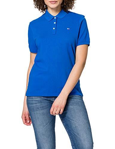 Tommy Jeans Tjw Slim Camisa de Polo para Mujer