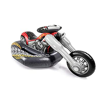 Intex Cruiser Motorcycle Ride-On Pool Toy, for Ages 3+ by Intex