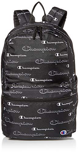 Champion Unisex's Asher Backpacks, Black/White, One Size