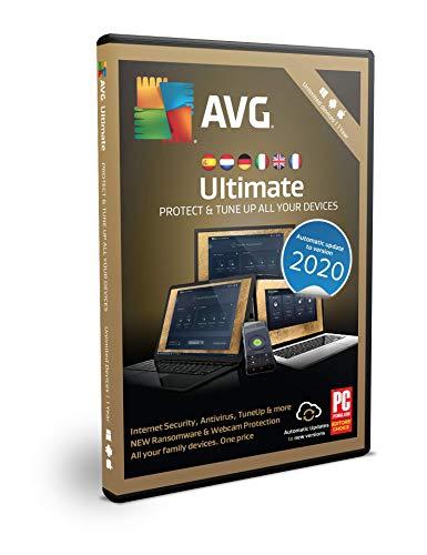 AVG Ultimate 2020 | Unbegrenzt | 1 Jahr | Box