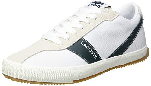 Lacoste Damen Ball Net 0721 1 Cfa Sneaker, Wht Dk Grn, 37.5 EU