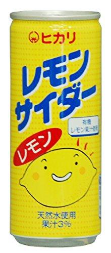 光食品 レモンサイダー 250ml×30本