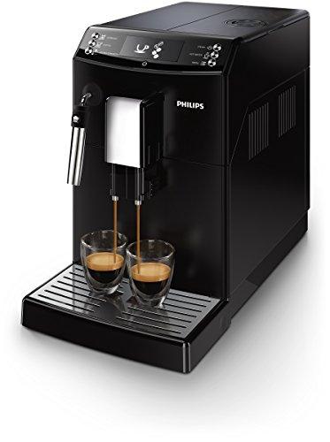Philips Serie 3100 EP3510/00 Macchina da Caffè Automatica, con Macine in Ceramica, Filtro AquaClean, Pannarello Classico