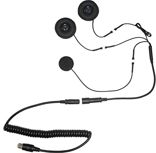 iMC Motorcom HS-H130P Open-Face Helmet Headset for 7 Pin...