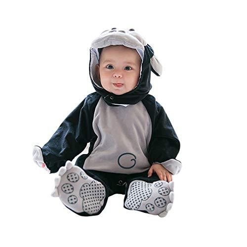 Pagliaccetto Animali,Unisex Pagliaccetti Bambino Inverno Autunno Jumpsuits Halloween Carnevale Cosplay