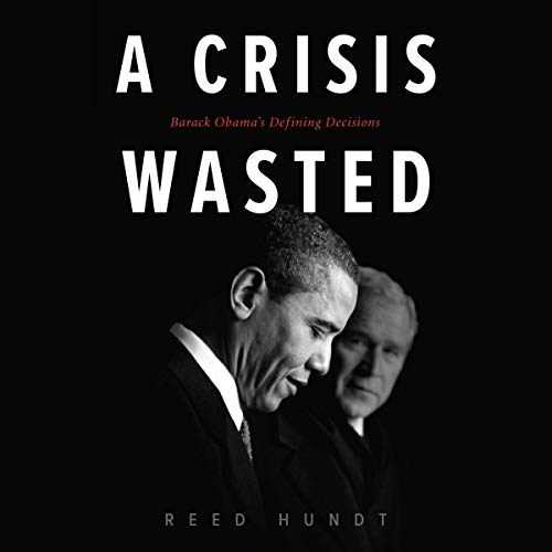 A Crisis Wasted audiobook cover art