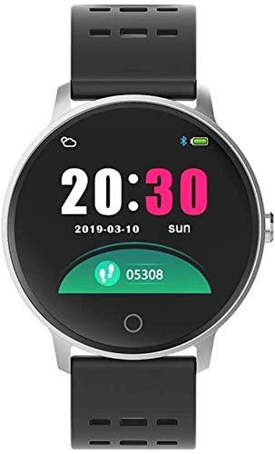 JSL Pantalla grande a largo plazo de la resistencia de la frecuencia cardíaca de la presión arterial reloj deportivo podómetro reloj multifunción inteligente pulsera 1