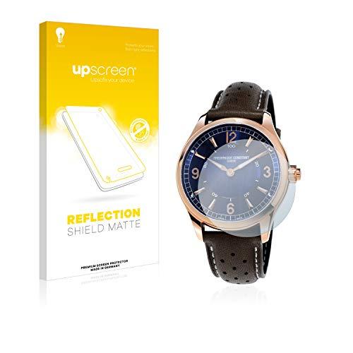 upscreen Entspiegelungs-Schutzfolie kompatibel mit Frédérique Constant Horological Smartwatch – Anti-Reflex Displayschutz-Folie Matt