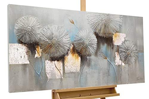 KunstLoft® Acryl Gemälde 'Cracks Start to Show' 120x60cm handgemalt Leinwand Bild