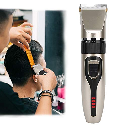 Barber Hair Cut Grooming, Tondeuse à cheveux pour hommes, 10W USB de charge électrique Hair Clipper Hair Trimmer Cutting Machine Styling Tool LED Display