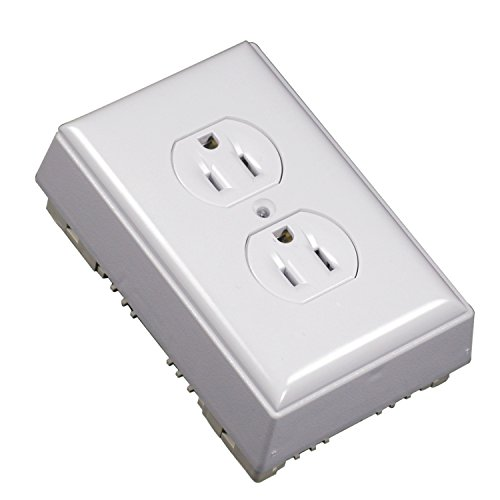 Legrand - Wiremold NMW2-D Raceway Outlet Box, 1-Pack, White