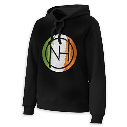 ELEANORSIMPSON Niall Horan Womens Hooded Sweatshirt Women Drawstring Hoodie Pullover M Black
