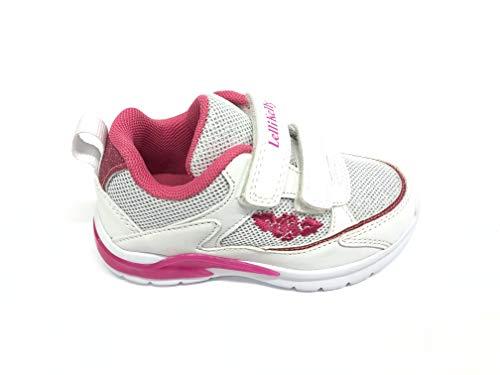 Lelli Kelly Sportlicher Schuh mit Beleuchtung, Weiß - Bianco - Größe: 33 EU