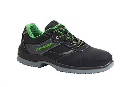 Dunlop First One Low - Zapatos de protección laboral S3 SRC, talla 47, color negro