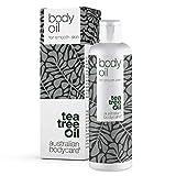 Australian Bodycare Body Oil - Mejora la apariencia de las estrías, cicatrices, piel de naranja (celulitis) manchas y tono desigual de la piel, Aceite corporal con aceite de árbol de té - 150 ml