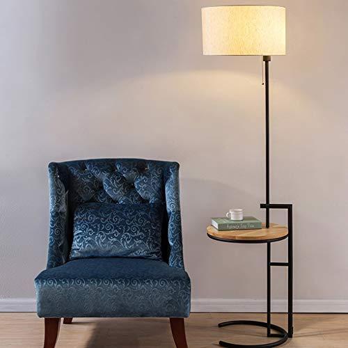 XIN Home Stehleuchte, Stehend Lesen Led, Amerikanische Stehleuchte Schlafzimmer Nachttischlampe Studie Stehleuchte Kreative Tisch Tisch mit Licht, Lesen Sofa Stehleuchte Augenschutz Vertikale Tischla