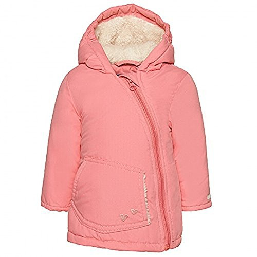TOM TAILOR Kids Baby - Mädchen Jacke cozy teddy padded jacket/508, Gr. 86, Rot (lollipop pink 5518)