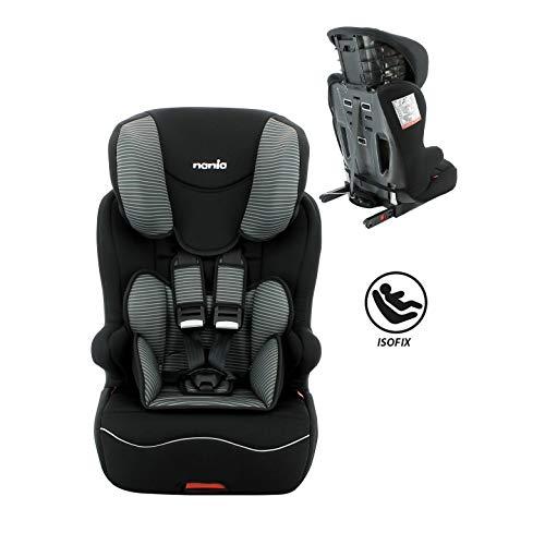 Siège auto enfant Isofix groupe 1/2/3 (9-36kg)-Protections latérales-Housse...