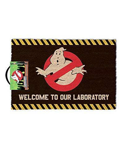 Horror-Shop Original Ghostbusters Fußmatte als kultiger Fanartikel aus dem Geisterjäger Film