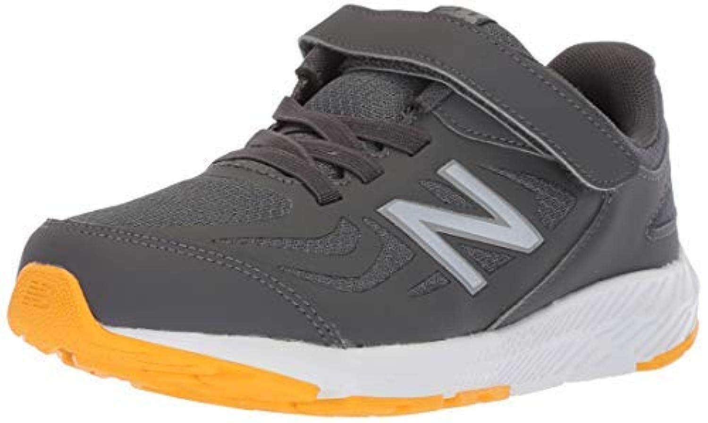 New Balance Boys' 519v1 Hook and Loop Running Shoe Magnet/Phantom 13 W US Little Kid [並行輸入品]