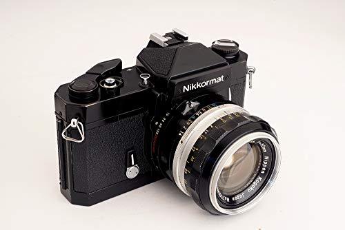 Find Bargain Nikon Nikkormat FT2 SLR 35MM Film Camera with Lens.