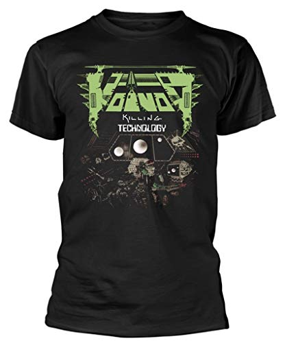 Voivod 'Killing Technology' T-Shirt (Medium) Black