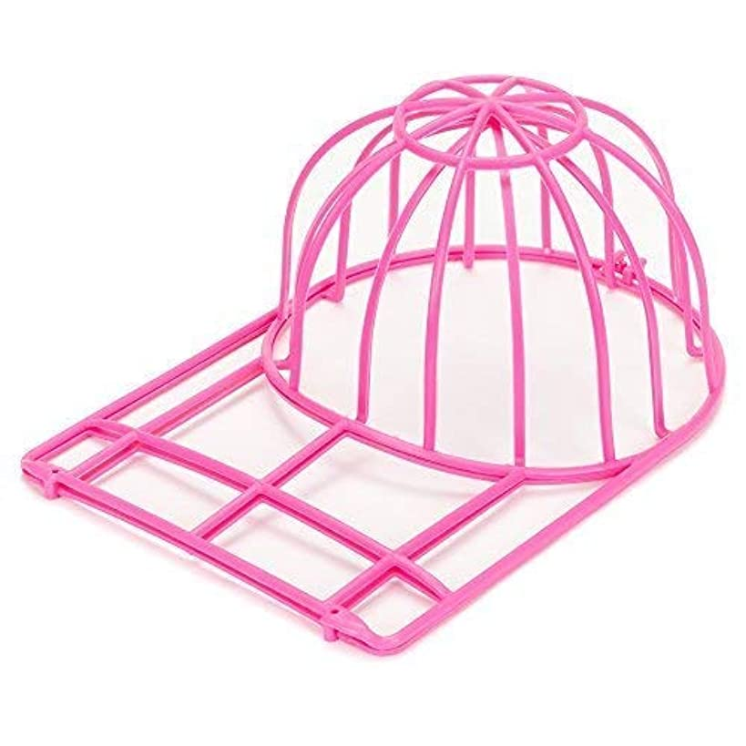 Ballcap Buddy Cap Washer the Original Patented Hat Washer Softball Baseball Cap Cleaner and Hat Cleaning Cage Made in USA Pink