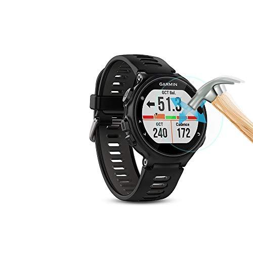 superior ZRL® Protecteur d'écran en Verre trempé pour Garmin Forerunner 735XT Protecteur d'écran