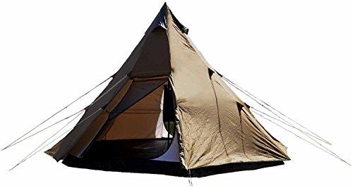 カナディアンイースト(Canadian East) アウトドア キャンプ ワンポールテント BIG420 [5~6名用] 軽量 組み立て簡単 UVカット CETN2001