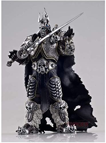 YSDHE World of Warcraft ARTHAS Lich King Alsace Juego decoración Manualidades Modelo Juguetes
