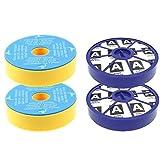 First4spares Kit de filtros premotor lavables y filtros posmotor Allergy HEPA para aspiradoras Dyson DC19 DC20 DC29(2de cada uno)