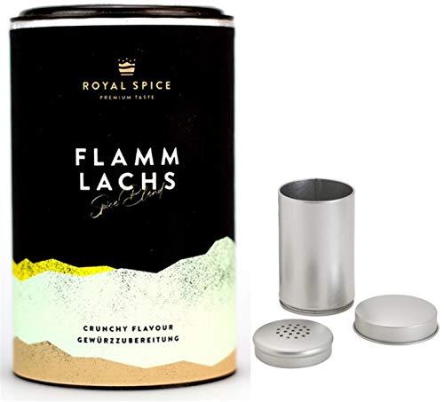 Royal Spice BBQ & Grill Gewürz Flammlachs 250gr, jetzt mit Streuer