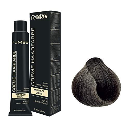 Femmas Hair Color Cream 100ml Haarfarbe (Mittelblond Asch 7.1)