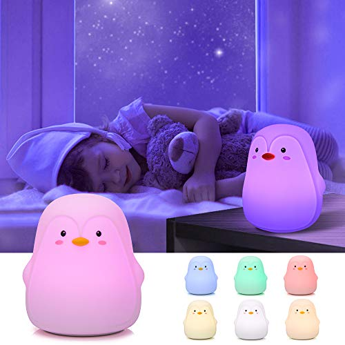 Penguin Gifts, GoLine Kids Night Lights for Girls, Gifts for...