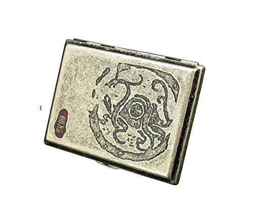 Best Bargain XIONGHAIZI The Cigarette Case Can Hold 16 Cigarettes (Optional in Four Colors) (Color :...