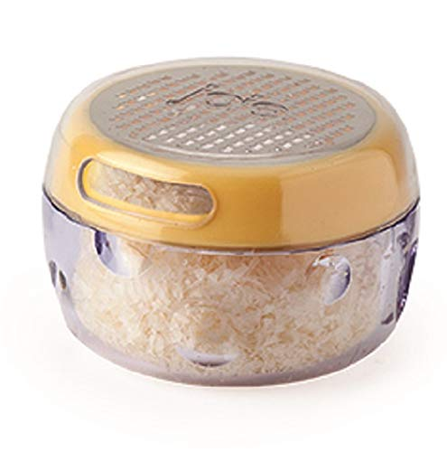 Joie Cheese Grater with Sprinkle Function, 8.9 x 7.6 x 12.7 cm, Yellow/Silver