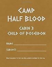 Camp Half Blood: Blank 108 Page Demigod Journal