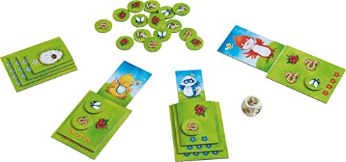 Image of HABA Little Bird, Big Hunger - A Cheerfully Cheeky Collecting Game for Ages 3 and Up (Made in Germany)