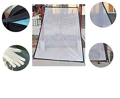 Copertura Impermeabile Trasparente Per Laghetti E Laghetti Decorazione Impermeabile Panno In Plastica Trasparente 3 X 4 M