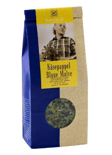 Sonnentor Tee Käsepappel (Blaue Malve) lose, 2er Pack (2 x 50 g) - Bio