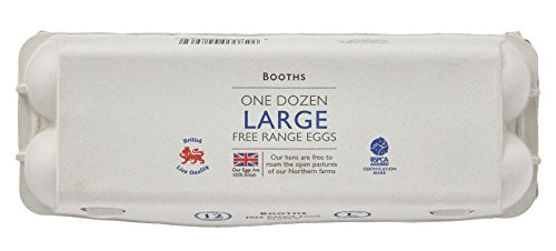Booths Large Free Range Eggs, 12 pack