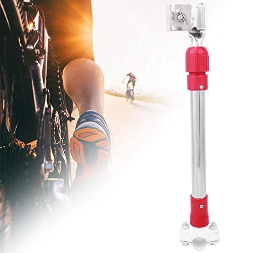FOLOSAFENAR Soporte de Paraguas de Bicicleta Soporte de Paraguas de Cochecito de Metal Duradero, para Bicicleta eléctrica, Bicicleta, Cochecito de niños, Silla de Ruedas(Red)