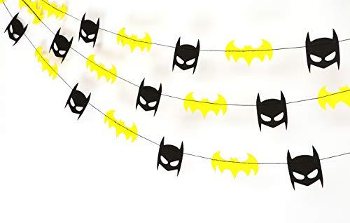 Batman Garland - Birthday Decorations,Party Decorations,Party décor,Creative Decoration