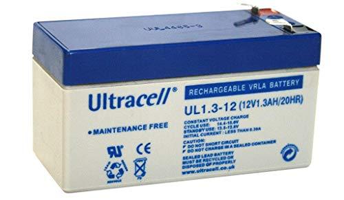 Batería Ultracell VRLA / Lead UL 12v 1300mAh UL1.3-12