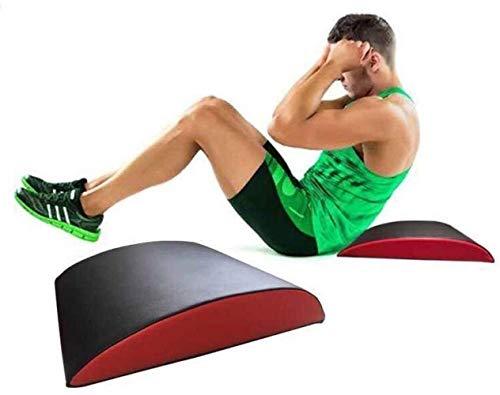 Pilates Spine Pilates Spine Yoga Masaje BedAb estera del cojín, abdominal se incorpora el auxiliar Mat Core entrenamiento Corrección Ejercicio cuña Tronco cervical inferior trasera de la ayuda lumbar
