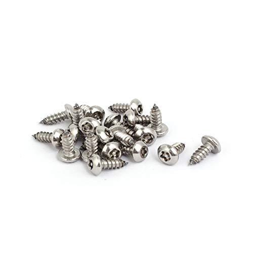 New Lon0167 M4.8 x Destacados 13mm 304 Tornillos eficacia confiable autorroscantes Torx 20x de la cabeza del molde del acero inoxidable(id:eba 04 7d 29d)