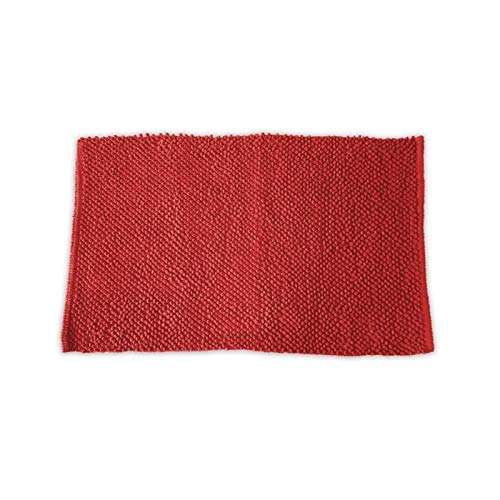 TODAY 101744 Tapis de Bain, Rouge, 50x80