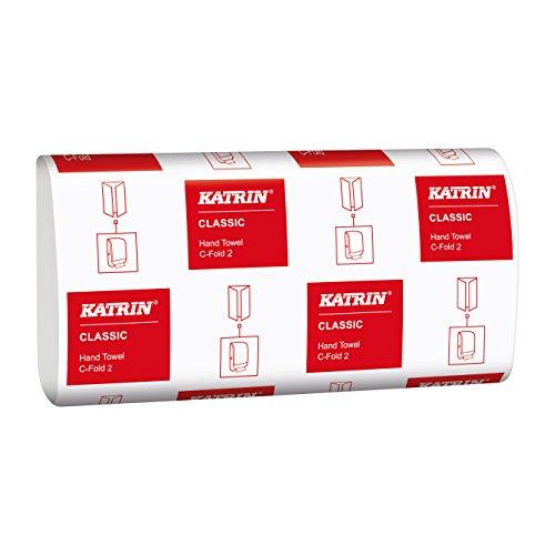 Katrin 343305 Classic C-Fold 2 Handtücher, 2-lagig (3000-er Pack)