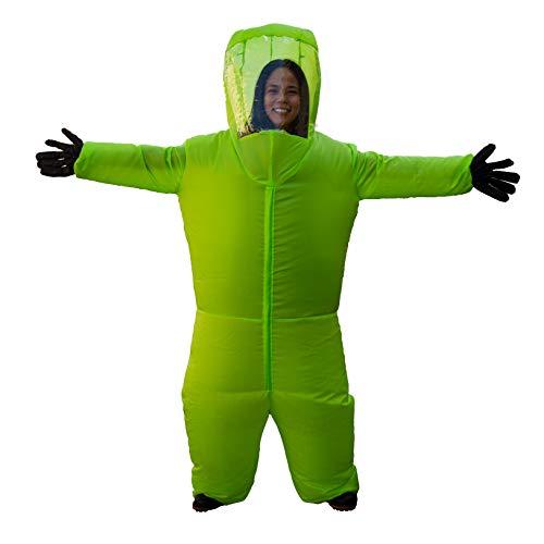 Inflatable Hazmat Costume (Green)