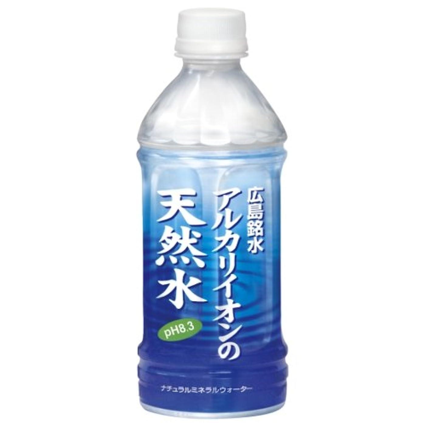 テントアパルアルバム宝積飲料 アルカリイオン天然水 500ml×24本